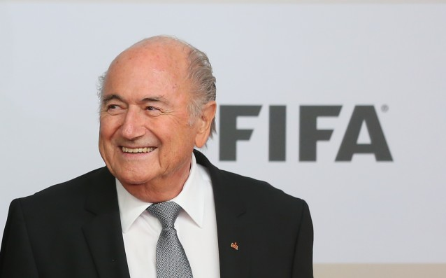 Sepp Blatter officially filed his candidacy for the post of President of FIFA