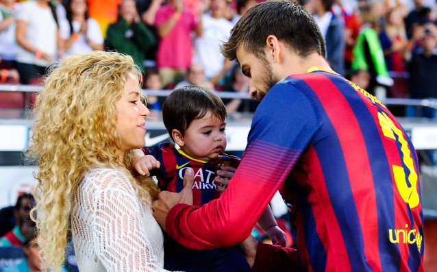 Pique and Shakira became parents for the second time