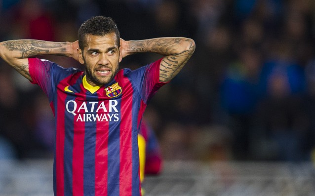 The agent of Danny Alves hinted that he is going to leave Barcelona