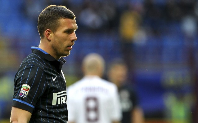 Inter left Poldi overboard for Europa League