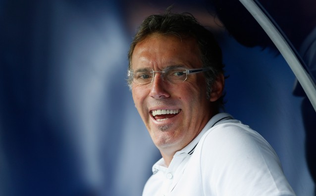 Paris Saint-Germain finally made Blanc smile