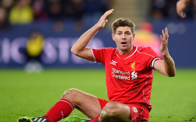 Bad news for Liverpool, Gerrard out for three weeks