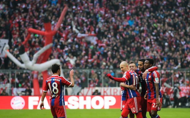 There has been a goal record for this season in the Bundesliga