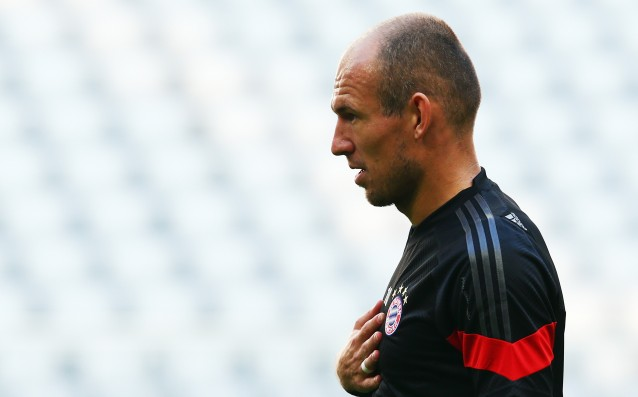 Robben: Bayern might have underestimated Shakhtar