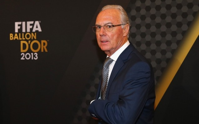 Beckenbauer defended Ronaldo for the party