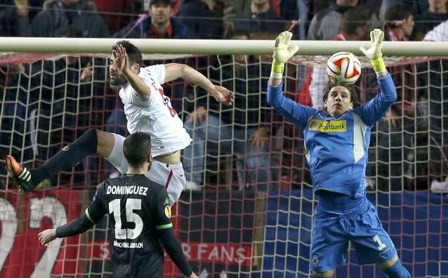 Sevilla came out with a step ahead of Gladbach