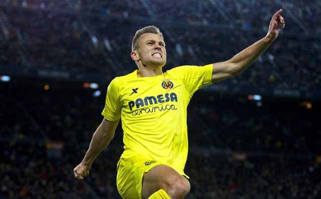 Villarreal took a fragile advance before the second leg against Salzburg