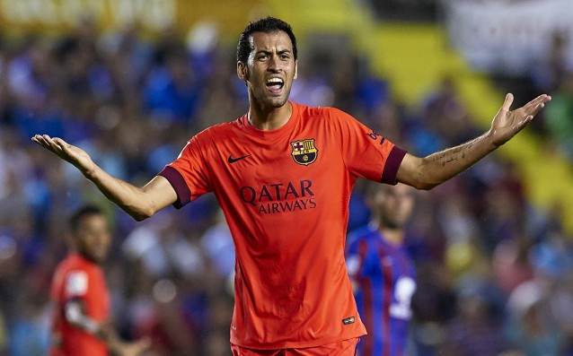 Busquets has become the fourth best-paid footballer in Barcelona