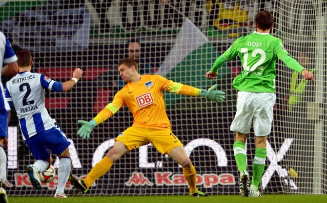 The goal machine of Wolfsburg does not stop scoring