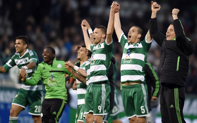 Panathinaikos defeated Olympiakos