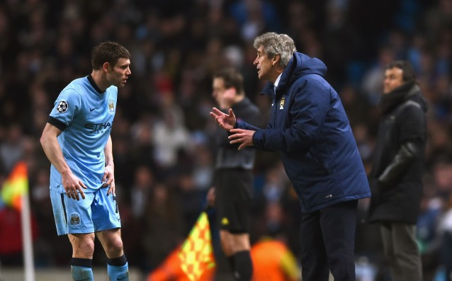 Pellegrini feels optimistic before the second leg against Barcelona