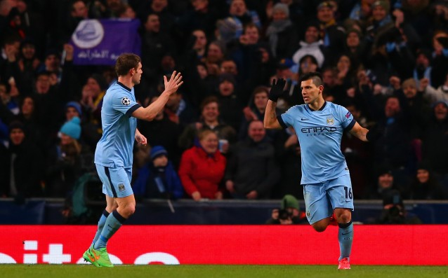 Aguero: City will fight all the way against Barcelona