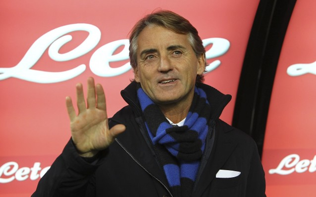 Mancini: The audience will help us to deal with Celtic