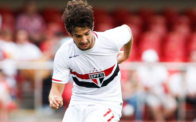 Pato has scored two goals for Sao Paulo in Brazil
