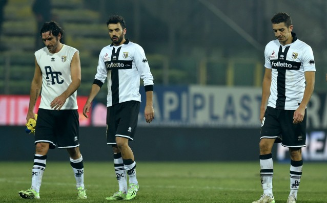 The Parma players refused to play with the Genoa