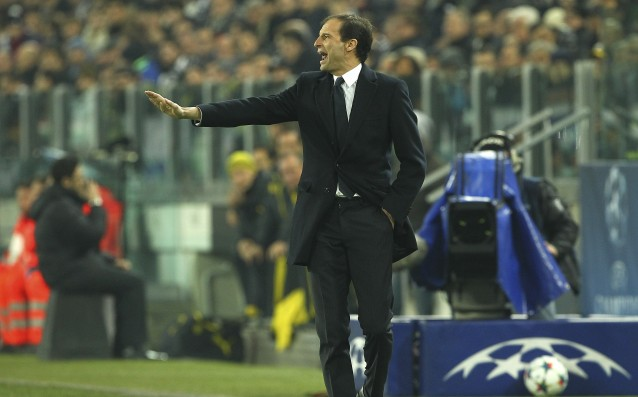 Allegri: We left the field angry