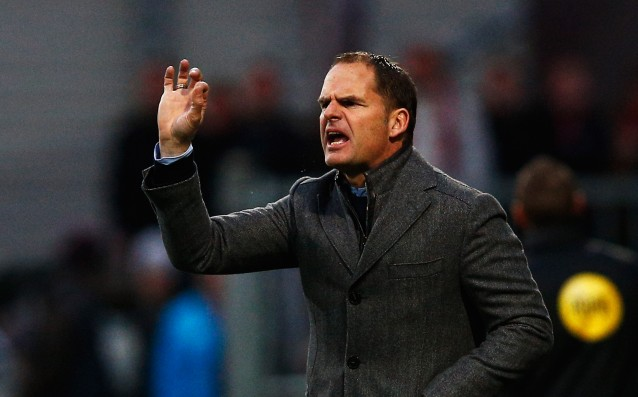 Frank de Boer lwill leave Ajax only because of an 'interesting' club