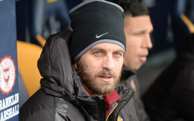 The offended de Rossi has left Roma without money