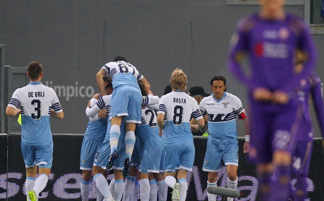 Lazio smashed the team of Fiorentina