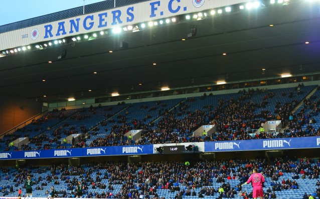 The Rangers spent 70 million pounds in the lower divisions