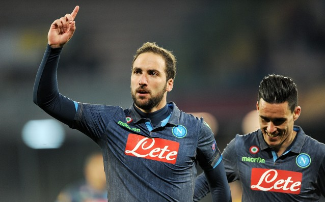 Higuain did very well against Dynamo Moscow