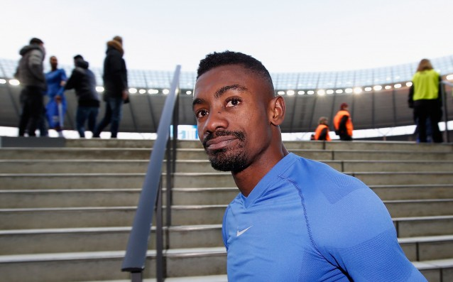 Salomon Kalou was fined for destruction of the Berlin wall