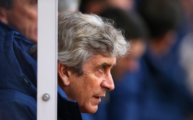 Pellegrini remains in City but because there is no one to replace him