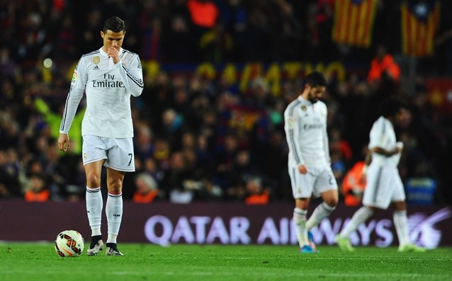 Fans again attacked the players of Real Madrid after the loss in El Classico