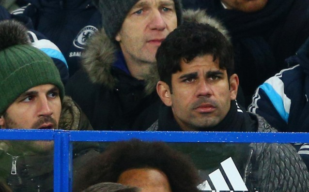 Diego Costa is passing medical examinations in Madrid