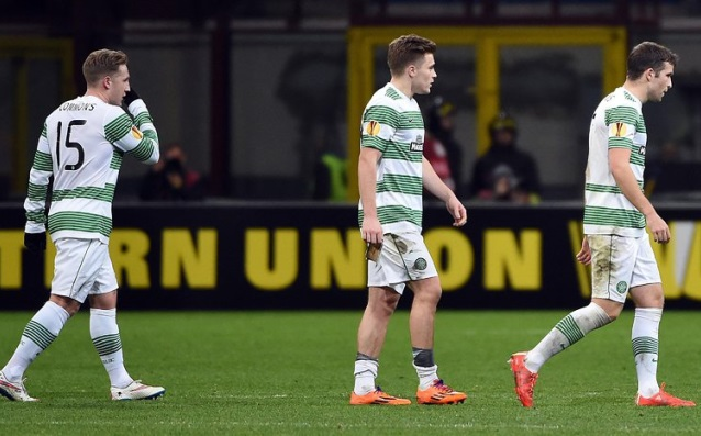UEFA fined Celtic with nearly £10,000