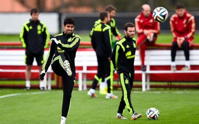 Diego Costa is out for the matches of Spain
