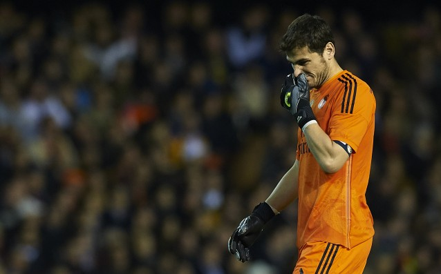 Unexpected support for Casillas