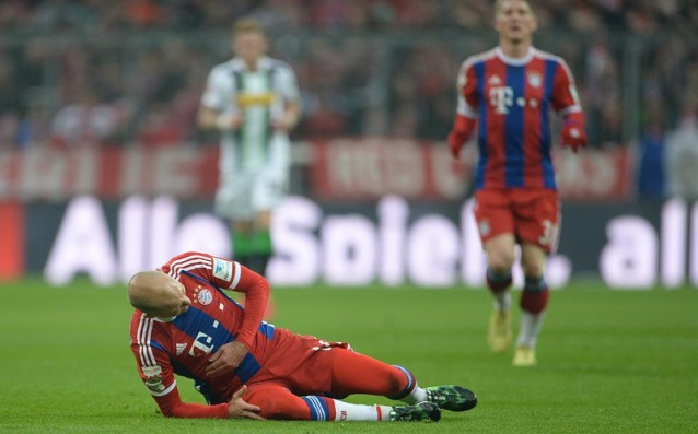 Bayern will try to lift the Robben for 1/2-finals in Champions League