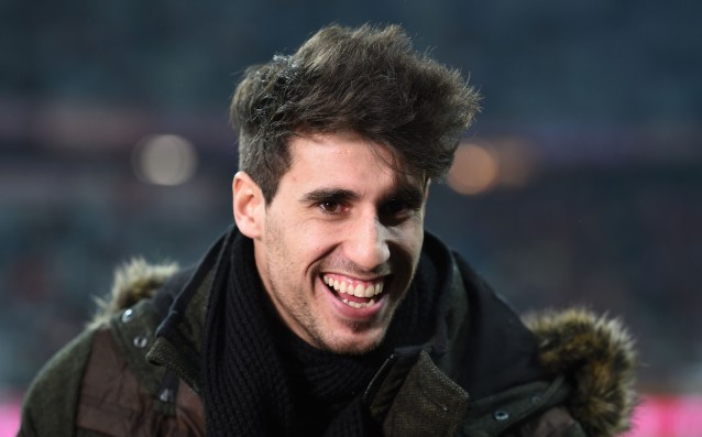 Javi Martinez is returning in April