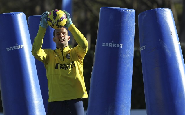 Handanovic started negotiations with Inter for a new contract