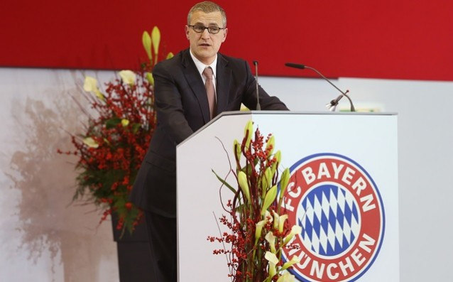 Bayern Munich: 'We can give 100 million dollars for a star.'