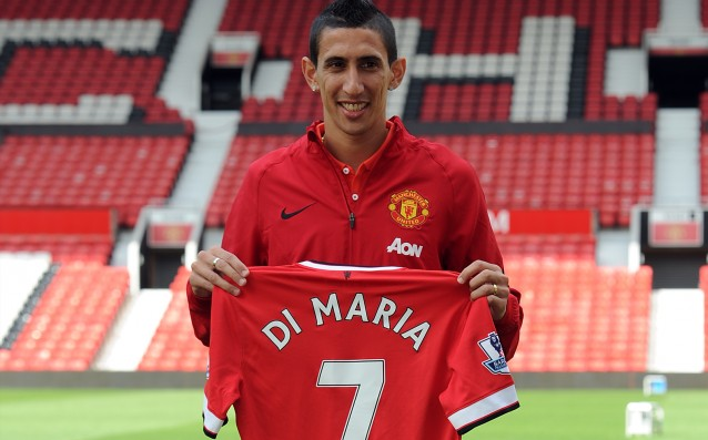 The best-selling T-shirt on the island - Angel di Maria