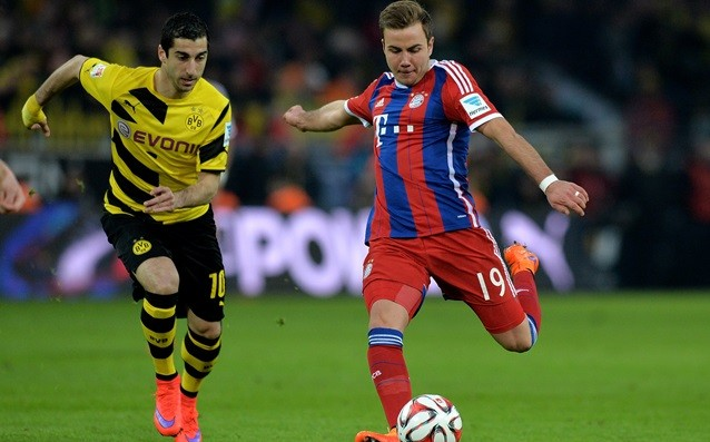 Gotze was not whining that he was benched against Borussia