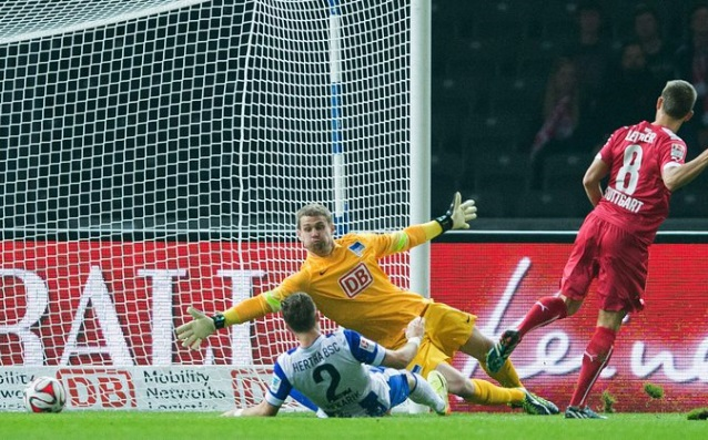 Hertha aggravated the situation of Paderborn