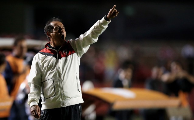 The coach of Sao Paulo has left because of ill-health