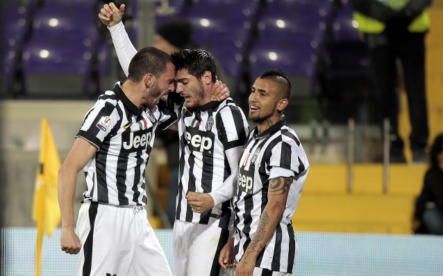 Juventus went over Fiorentina for a place in the final