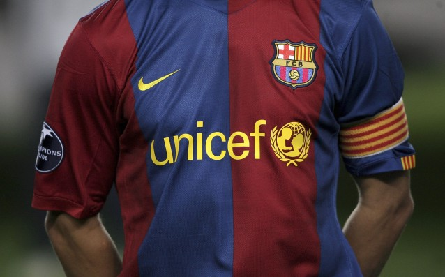 Barcelona lent 3 million euros to UNICEF