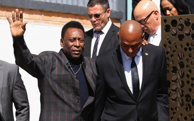 Pele is already fully recovered after the disease
