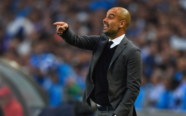 Guardiola: 'We didn't get the perfect game.'