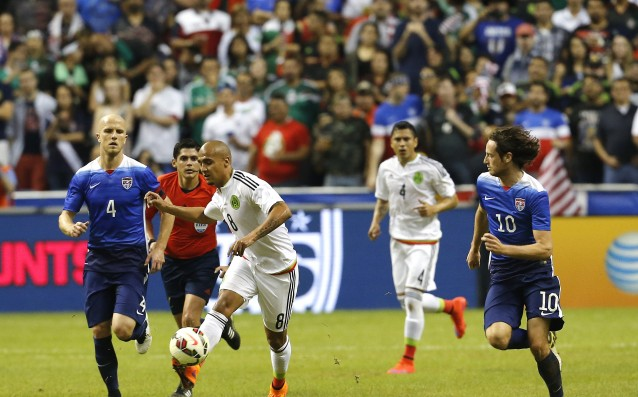 The United States beat Mexico in a control match