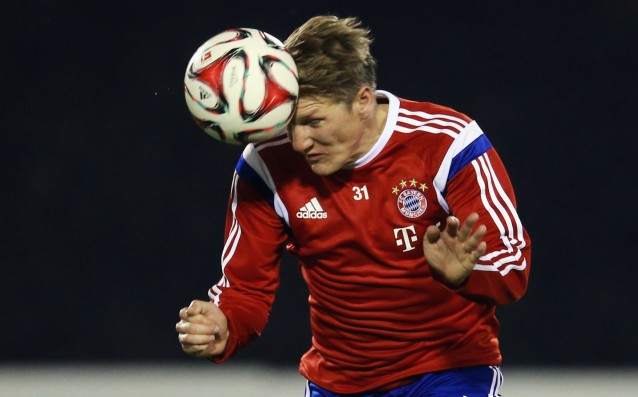 Schweinsteiger is ready for Bayern vs. Porto, Ribery is probably not