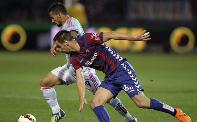 Celta overcame Eibar with a penalty