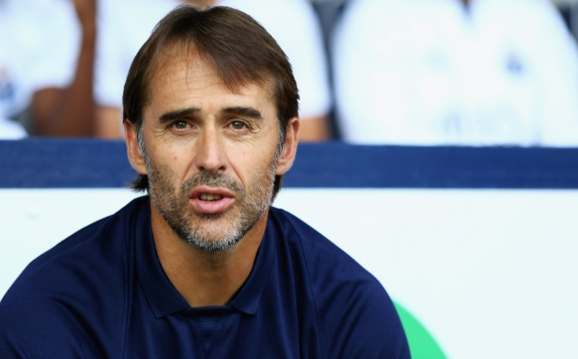 Lopetegui: 'It is going to be very tough against Bayern.'
