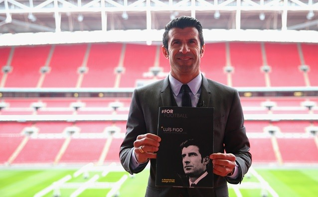 Figo expressed hope for support from Asia