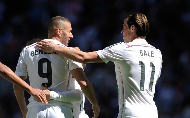 Bale and Benzema will be on line for Real